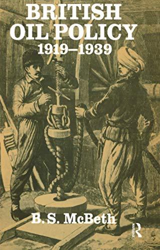 9781138987968: British Oil Policy 1919-1939