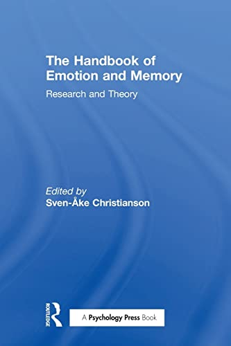 9781138989405: The Handbook of Emotion and Memory: Research and Theory