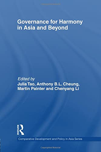 9781138991989: Governance for Harmony in Asia and Beyond (Comparative Development and Policy in Asia)