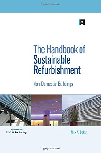 9781138992108: The Handbook of Sustainable Refurbishment: Non-Domestic Buildings