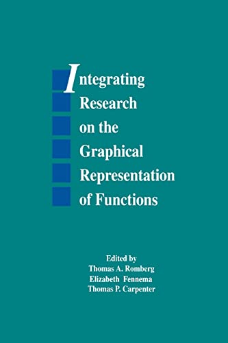9781138992542: Integrating Research on the Graphical Representation of Functions (Studies in Mathematical Thinking and Learning Series)