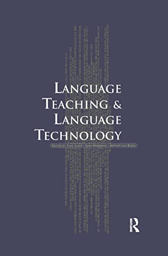 9781138993051: Language Teaching and Language Technology