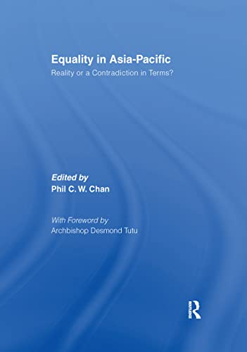 9781138993501: Equality in Asia-Pacific: Reality or a Contradiction in Terms?