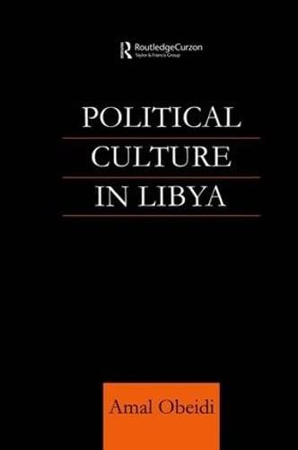 9781138995055: Political Culture in Libya
