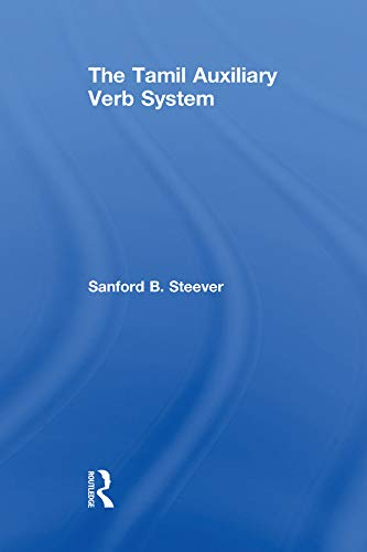 9781138996731: The Tamil Auxiliary Verb System (Routledge Studies in Asian Linguistics)