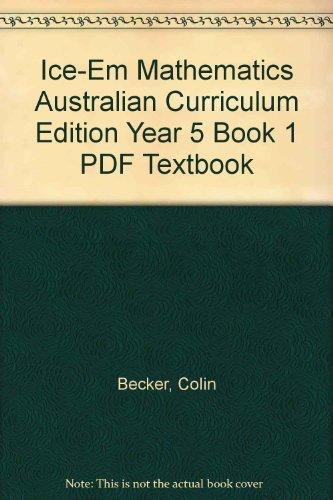 9781139048477: ICE-EM Mathematics Australian Curriculum