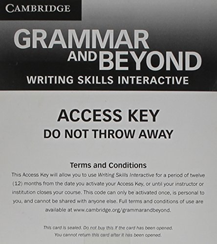 9781139061872: Grammar and Beyond Level 3 Writing Skills Interactive