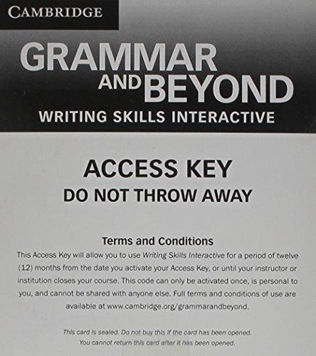 9781139061872: Grammar and Beyond Level 3 Writing Skills Interactive