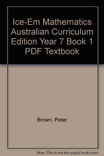9781139071963: ICE-EM Mathematics Australian Curriculum
