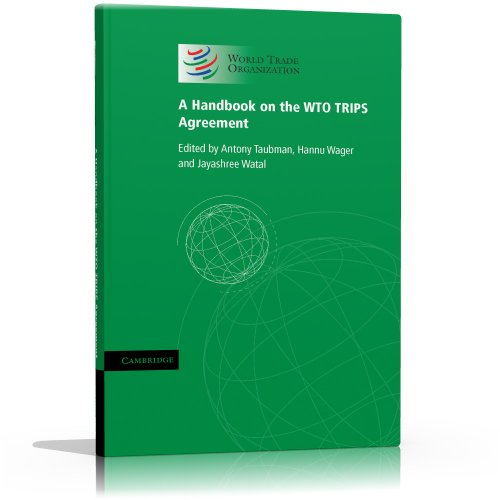 9781139150606: A Handbook on the WTO TRIPS Agreement