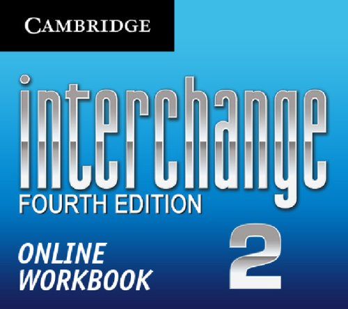 9781139443555: Interchange Level 2 Online Workbook (Standalone for Students) (Interchange Fourth Edition)