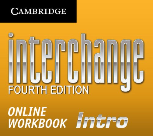 9781139448673: Interchange Intro Online Workbook (Standalone for Students) (Interchange Fourth Edition)