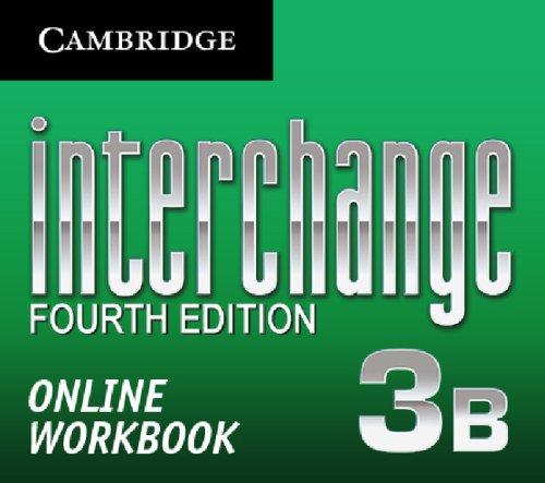9781139507875: Interchange Level 3 Online Workbook B (Standalone for Students) (Interchange Fourth Edition)