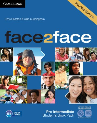 9781139566582: face2face Pre-intermediate Student's Book with DVD-ROM and Online Workbook Pack