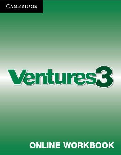 9781139884723: Ventures Level 3 Online Workbook (Standalone for Students)