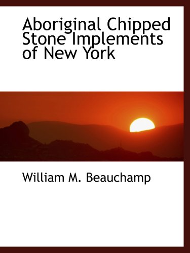 9781140015024: Aboriginal Chipped Stone Implements of New York
