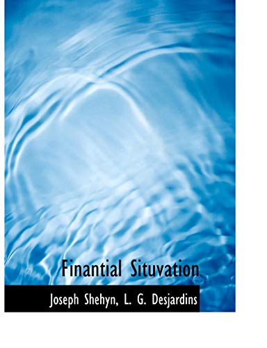 Finantial Situvation: Joseph Shehyn