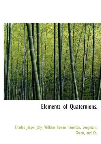 9781140064374: Elements of Quaternions.