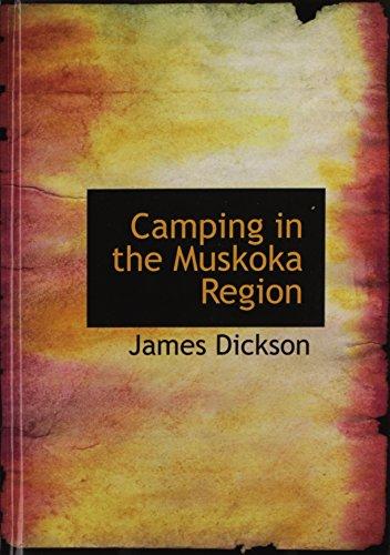9781140080961: Camping in the Muskoka Region
