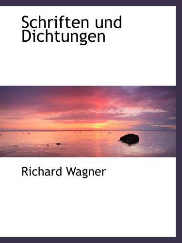 9781140090434: Schriften und Dichtungen