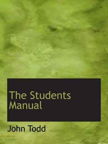 9781140122265: The Students Manual