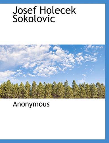 9781140124252: Josef Holecek Sokolovic