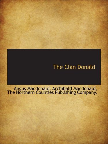 9781140199502: The Clan Donald