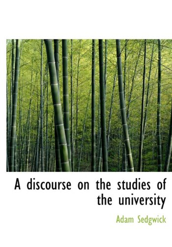 9781140205395: A discourse on the studies of the university