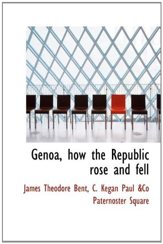 9781140250050: Genoa, how the Republic rose and fell