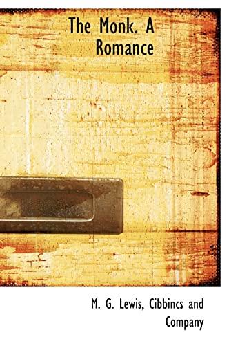 9781140282310: The Monk. A Romance