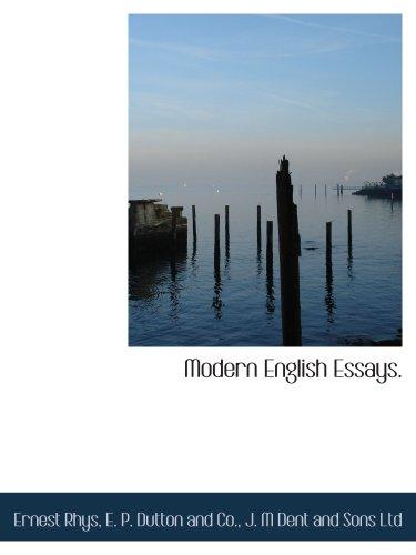 9781140282648: Modern English Essays.