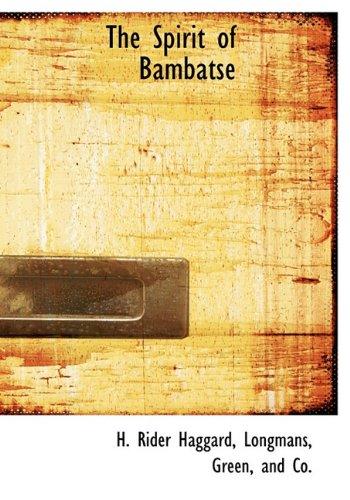 9781140286035: The Spirit of Bambatse