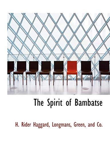 9781140286042: The Spirit of Bambatse