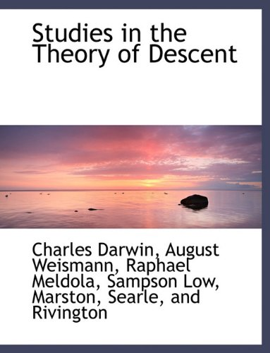 9781140303077: Studies in the Theory of Descent