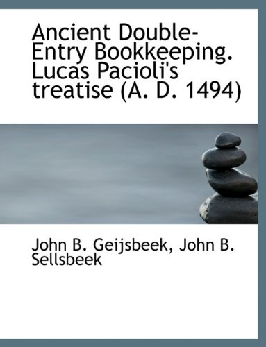 9781140312666: Ancient Double-Entry Bookkeeping. Lucas Pacioli's treatise (A. D. 1494)