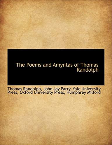 9781140363057: The Poems and Amyntas of Thomas Randolph