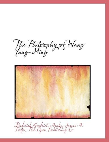 9781140363811: The Philosophy of Wang Yang-Ming