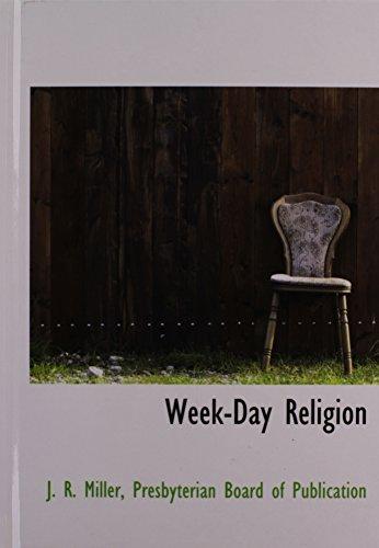 9781140367482: Week-Day Religion