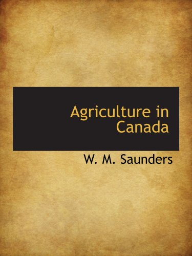 9781140388609: Agriculture in Canada