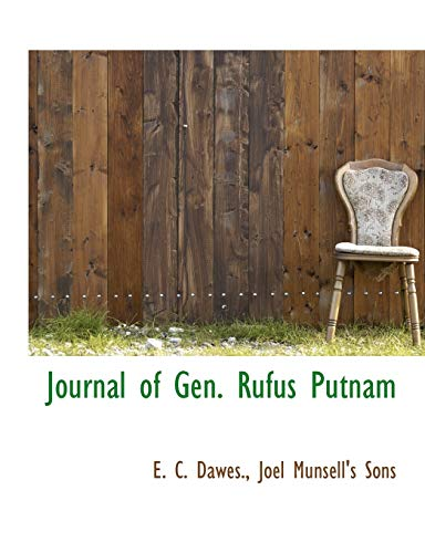 9781140389620: Journal of Gen. Rufus Putnam