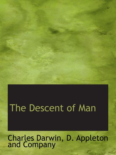 9781140398677: The Descent of Man