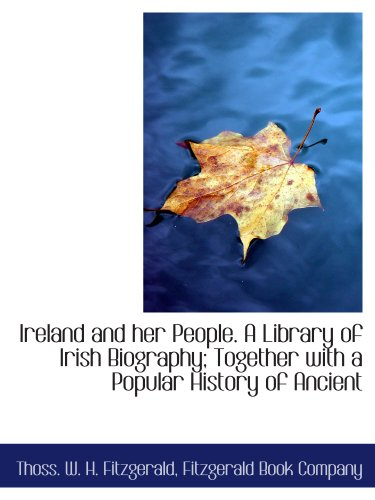 Ireland and her People. A Library of: Thoss. W. H.