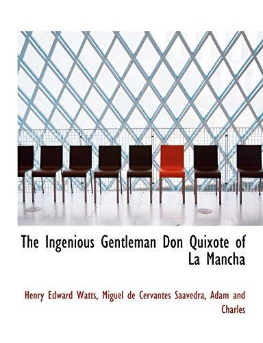 9781140416272: The Ingenious Gentleman Don Quixote of La Mancha
