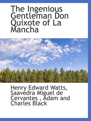 9781140416319: The Ingenious Gentleman Don Quixote of La Mancha