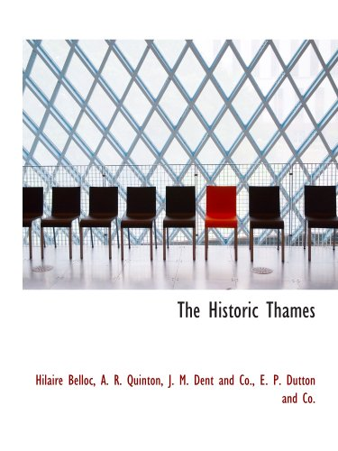 9781140421597: The Historic Thames