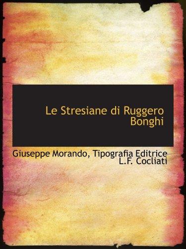 Le Stresiane di Ruggero Bonghi: Giuseppe Morando