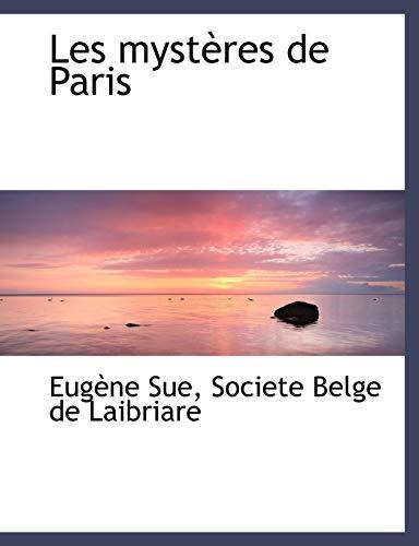 9781140428992: Les mystères de Paris (French Edition)