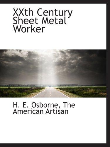 9781140477112: XXth Century Sheet Metal Worker