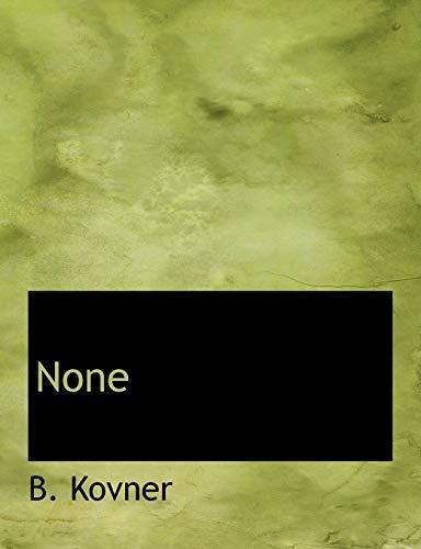 9781140504399: None (Yiddish Edition)