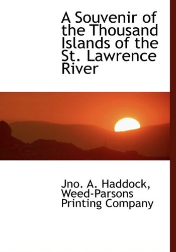 9781140537663: A Souvenir of the Thousand Islands of the St. Lawrence River